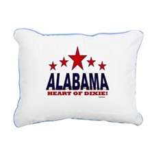 Alabama Ride The Tide Rectangular Canvas Pillow