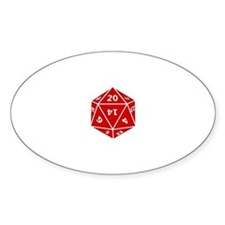 Nerdtastic D20 Decal