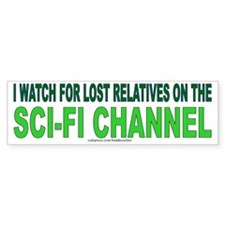 SCI-FI CHANNEL Bumper Bumper Sticker
