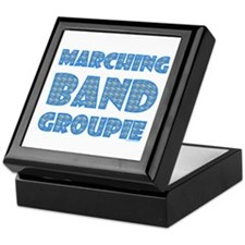 Marching Band Groupie Keepsake Box