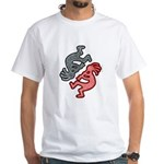 KOKOPELLI JIVE White T-Shirt