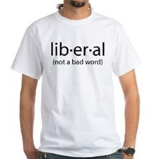 liberal (w/definition on back) Shirt