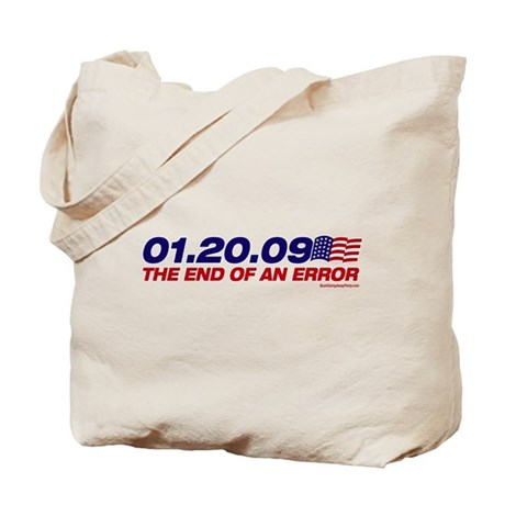 01.20.09 - The End of an Erro Tote Bag