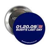 Bush's Last Day Button
