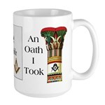The Masonic Oath Large Mug