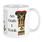 The Masonic Oath Mug