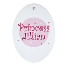 Jillian Oval Ornament