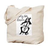 Classy Gal Cellist Tote Bag