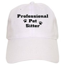 Professional Pet Sitter Baseball Cap