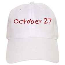 October 27 Baseball Cap