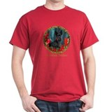 Scottish Terrier Scottie Christmas T-Shirt