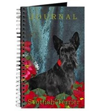 Scottish Terrier Scottie Christmas Journal