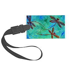 Dragonfly Dance Luggage Tag