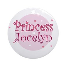 Jocelyn Ornament (Round)