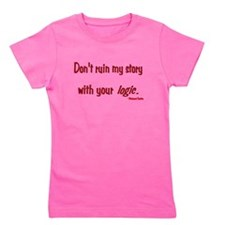 Castle Don't Ruin My Story Girl's Tee