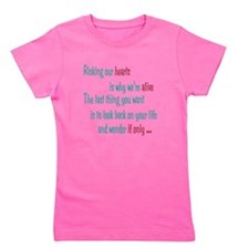 Castle: Risking Our Hearts Girl's Tee