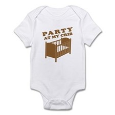 Party at My Crib Tee Onesie