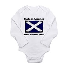 Made In America With Scottish Parts Body Suit