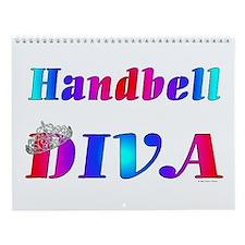 Handbell Diva Wall Calendar