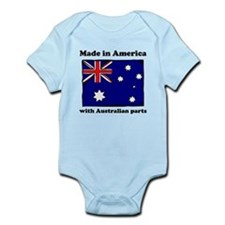 Made In America With Australian Parts Body Suit
