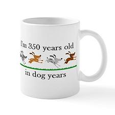 50 dog years birthday 2 Small Mug