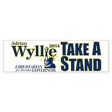 Adrian Wyllie Bumper Bumper Sticker