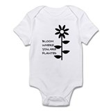 I LOVE YOU WITH ALL MY HEART Infant Bodysuit