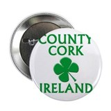 "County Cork, Ireland 2.25"" Button (10 pack)"