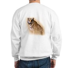 Kipling the tiger in field Sweatshirt