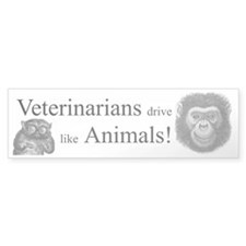 Veterinary bumper sticker