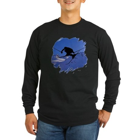 Ski Long Sleeve Dark T-Shirt