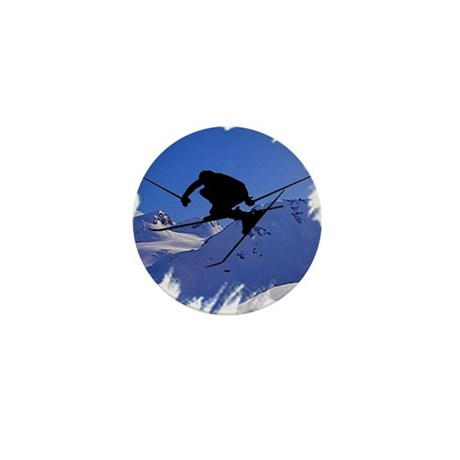 Ski Mini Button (100 pack)