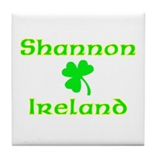 Shannon, Ireland Tile Coaster