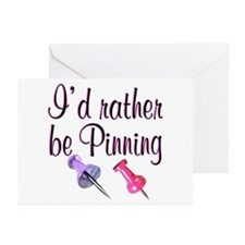 PINNING QUEEN Greeting Cards (Pk of 10)