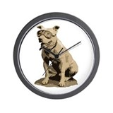 Vintage Pit Bull Wall Clock