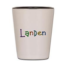 Landen Play Clay Shot Glass