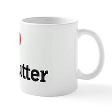 I Love Duck Butter Mug