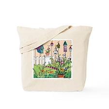 Cynthia Bainton Bird House Garden Tote Bag