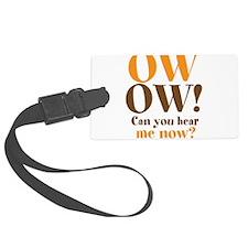 OW OW! Luggage Tag