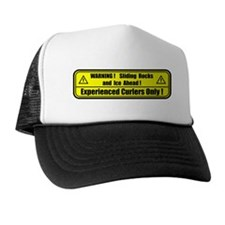 """Warning! Sliding Rocks..."" Trucker Hat"