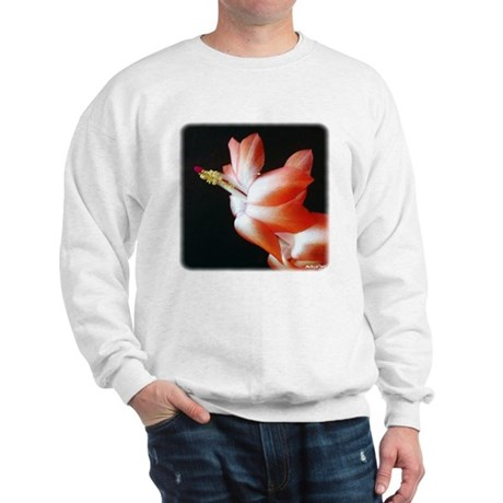Orange Christmas Cactus Sweatshirt