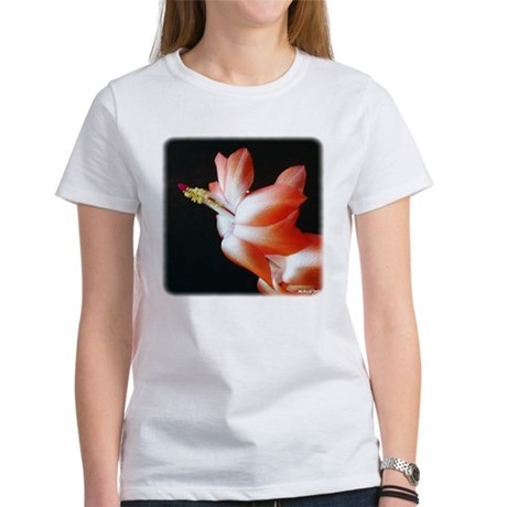 Orange Christmas Cactus Women's T-Shirt