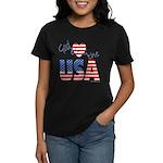 God Bless the USA Women's Dark T-Shirt