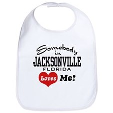 Somebody In Jacksonville Florida Loves Me Bib