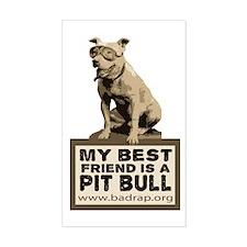 Best Friend Bud Rectangle Sticker