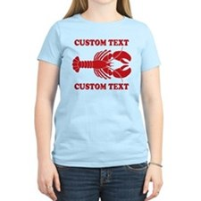 CUSTOM TEXT Lobster T-Shirt