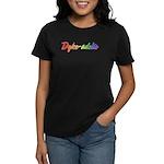 Dyke-adelic Women's Dark T-Shirt