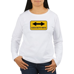 Both Ways Women's Long Sleeve T-Shirt