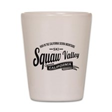 Squaw Valley Vintage Shot Glass