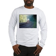 Conrail Office Car Train Long Sleeve T-Shirt